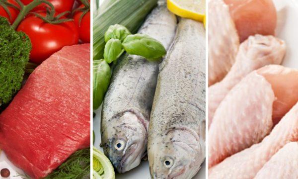 Значительную часть рациона безуглеводной диеты должны составлять мясные и рыбные блюда