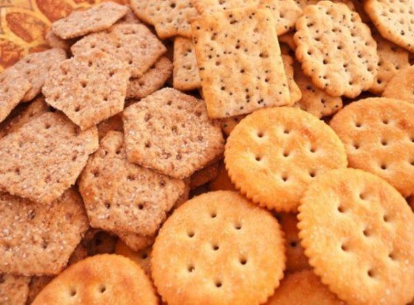 Значительно менее калорийное печенье — галетное