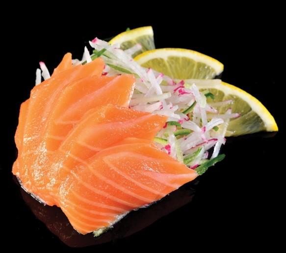 Лучшим вариантом на суши-диете является сашими