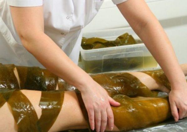 Обертывание с водорослями