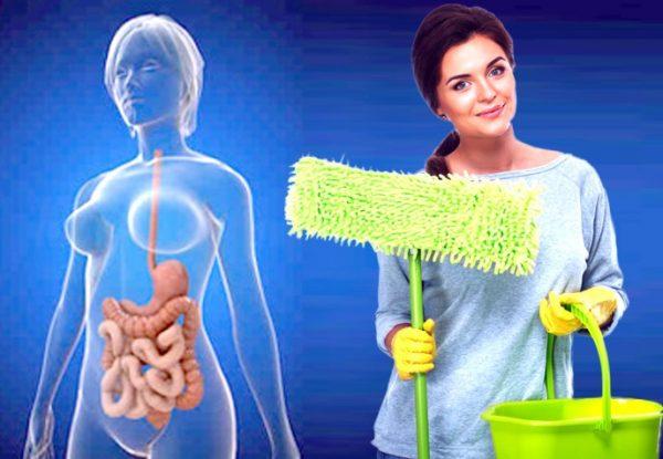 Для очистки кишечника от скопившихся за долгое время токсинов используются различные средства