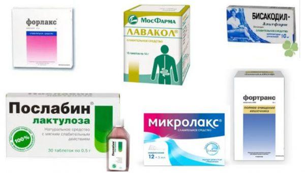 Чистка кишечника препараты эффективные