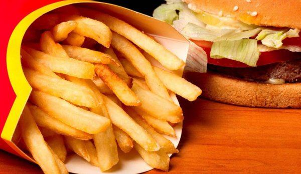 Картофель фри Макдональдс
