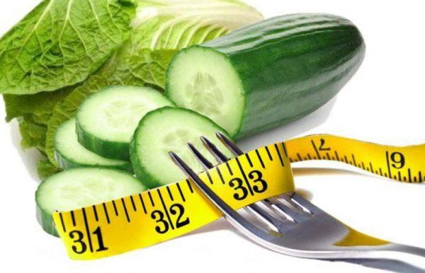 Огуречная диета помогает избавиться от трех до пяти килограммов за два дня