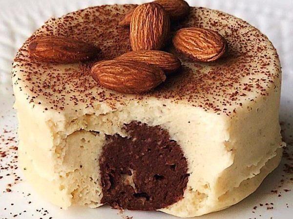 Шоколадно-банановый магкейк