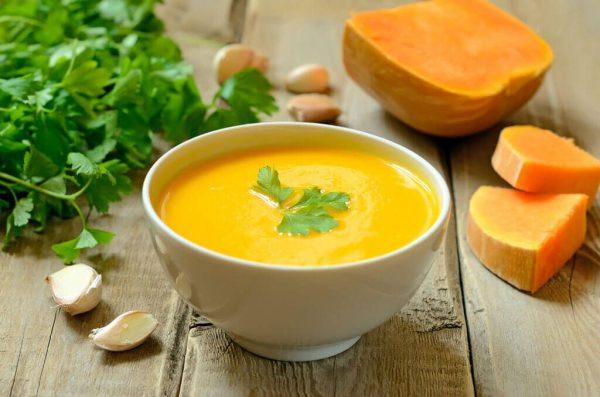Суп-пюре из тыквы для похудения