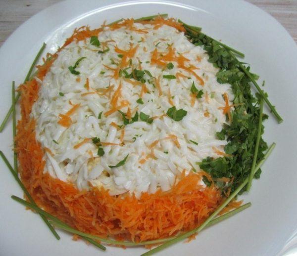 Облегченный салатик