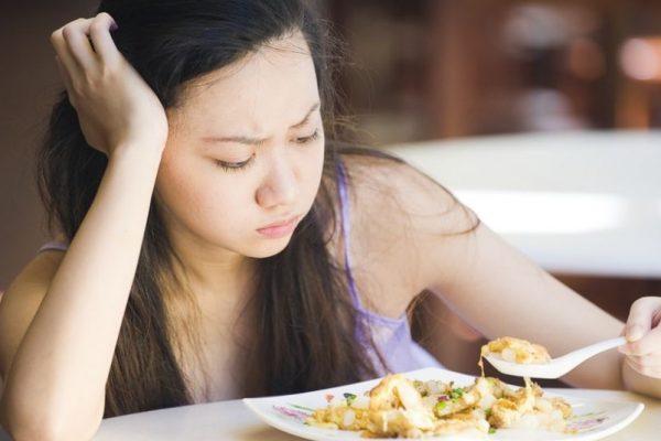Сниженный аппетит вызывает плохое настроение