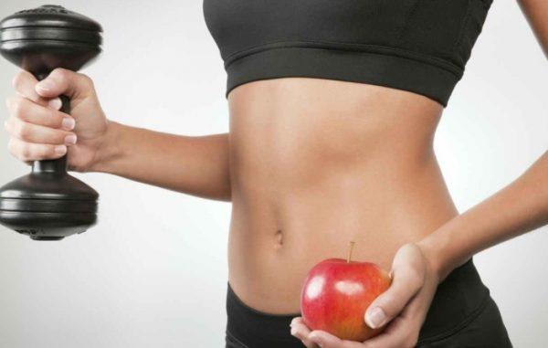 Правильное похудение возможно при сбалансированной, но дефицитной диете