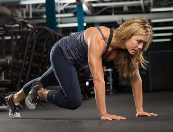 Тренировочный круг состоит из 4-7 упражнений