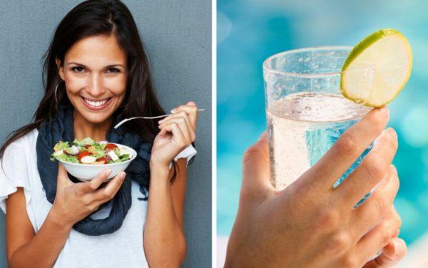 Для похудения исключают из меню жирные и высококалорийные продукты, фастфуд, напитки, алкоголь, мучное и сладкое