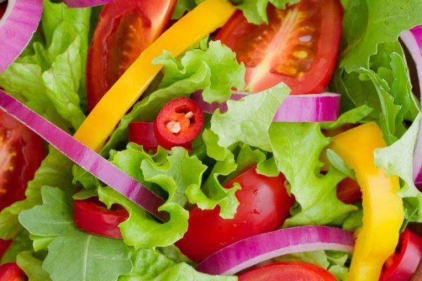 Овощной салат с перцем
