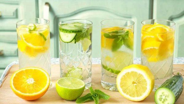 Разгрузка на лимонной воде