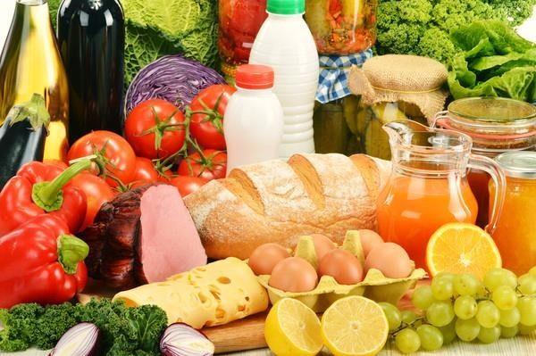 Продукты с высоким содержанием жиров