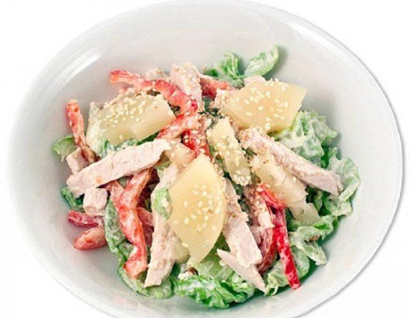 Салат с курицей «Фантазия»