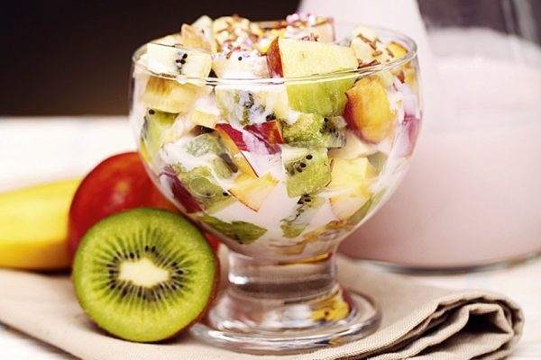 Фруктовый салат «Нежный»
