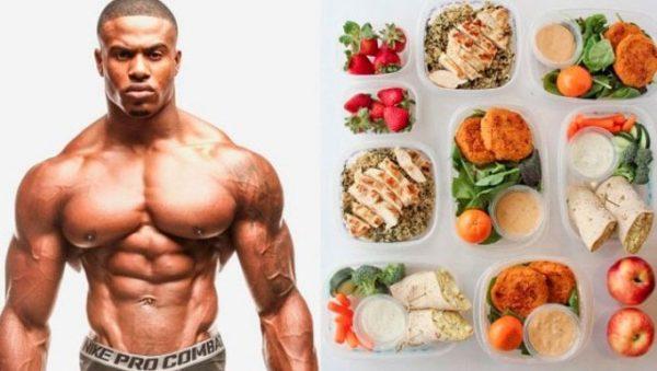 Питание эктоморфа для набора мышечной массы: меню на каждый день