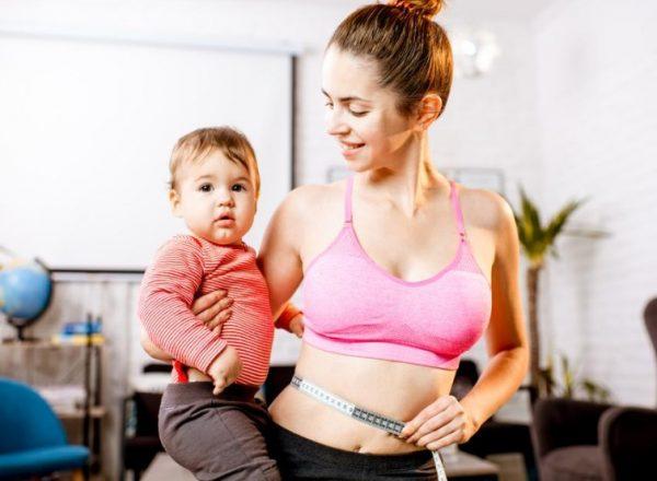 Когда можно начинать худеть после родов