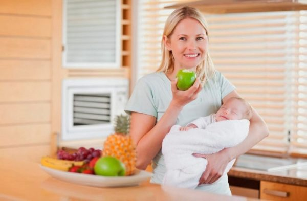 Диета кормящей мамы по месяцам: список разрешенных продуктов