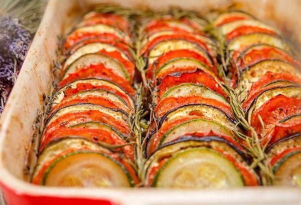 Рататуй – запечённые овощи