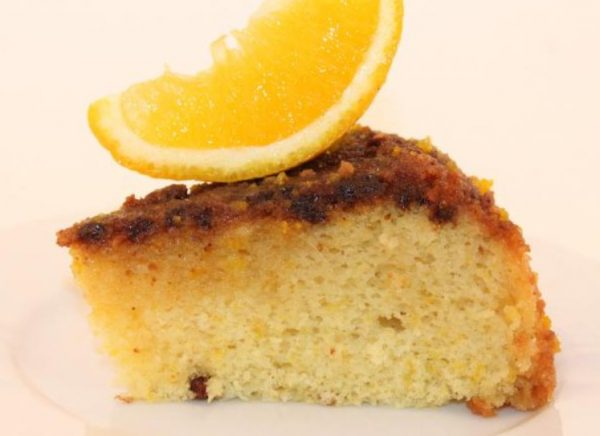 Белково-апельсиновая запеканка