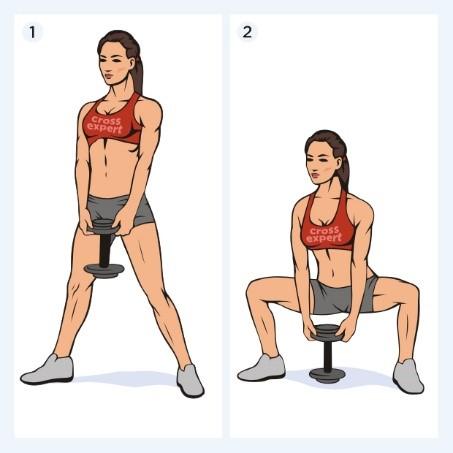 Упражнения для увеличения ягодиц и бедер