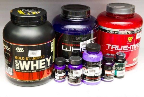 Использование пищевых добавок для роста мышц