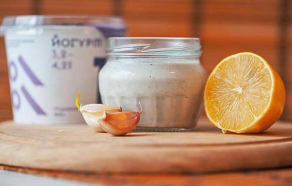 Майонез из йогурта