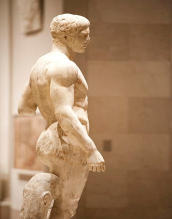 Статуя «Дорифор» (авт. Поликлет)