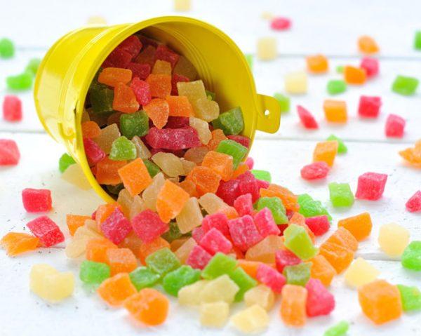Сколько калорий в цукатах
