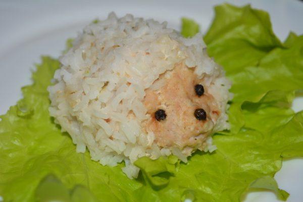Ежики из фарша и риса