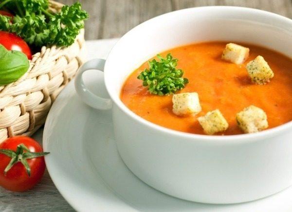 Тыквенный вегетарианский суп