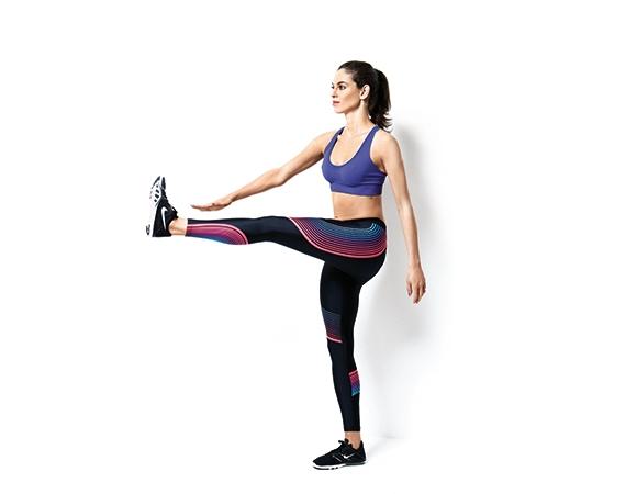 3. Отведение ноги вперед