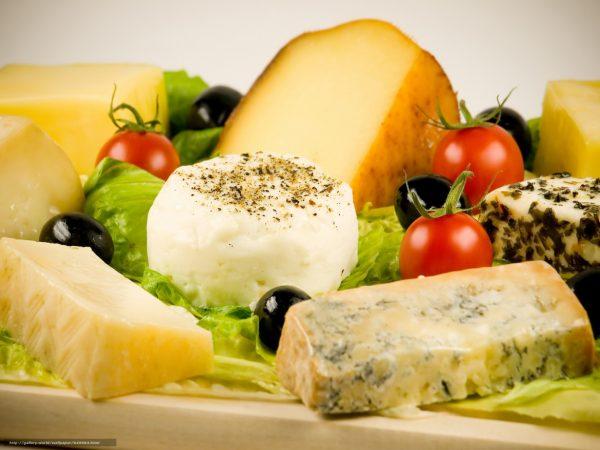 Список нежирных сыров