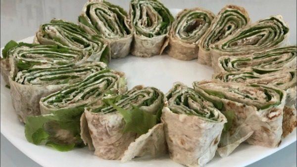Вегетарианская пп-шаурма