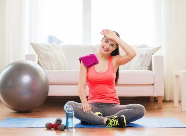 Гимнастика для похудения в домашних условиях: правила выполнения