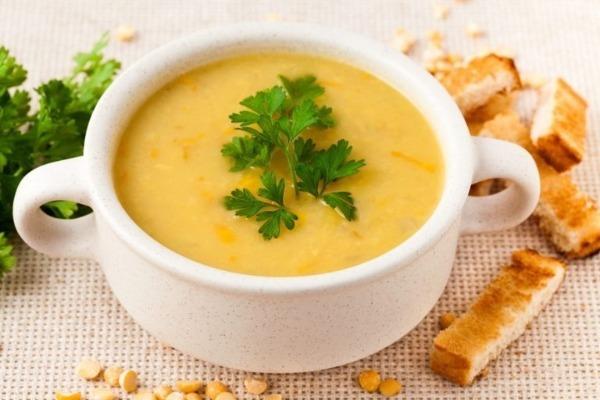 Гороховый суп-пюре: калорийность на 100 грамм